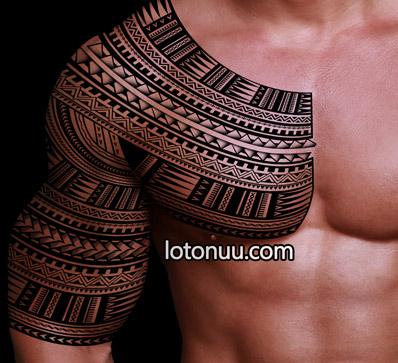 Samoan Tattoo Designs for Men